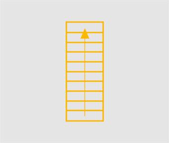 монтаж прямой лестницы